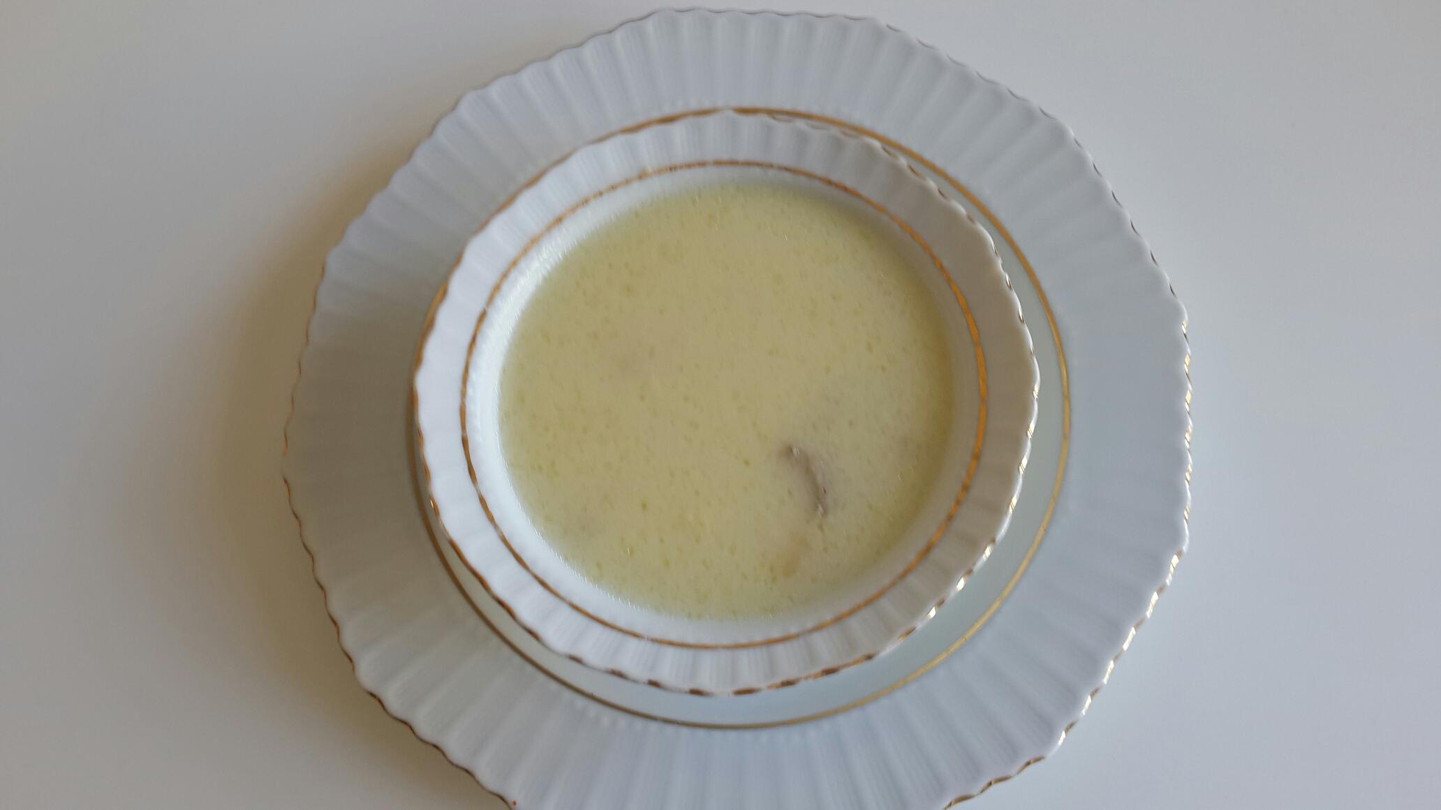 Terbiyeli Tavuk Suyu Çorba