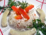 Enginarlı Havuçlu Pirinç Pilavı