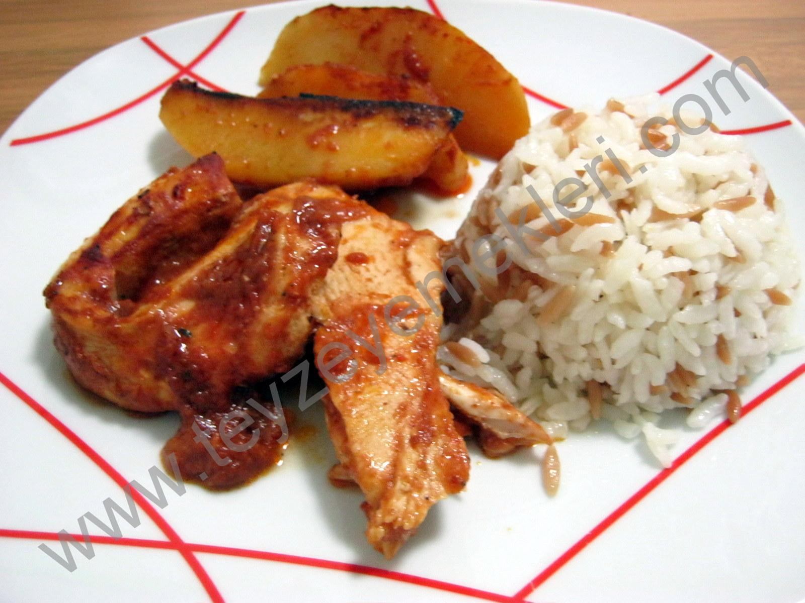 Salçalı Fırın Tavuk